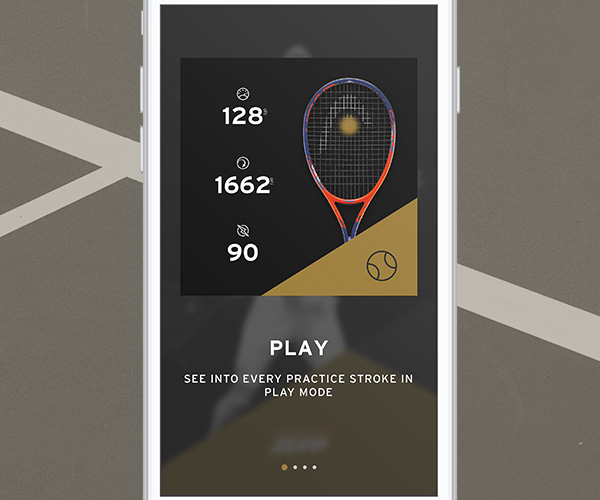 Serve-Open - HEAD Tennis Sensor - Speed
