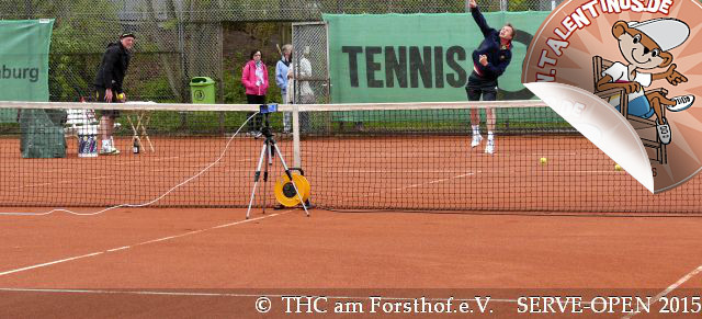 Tennis - Auschlagsfoto Nr. 1 - SERVE Open