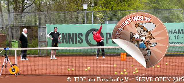 Tennis - Auschlagsfoto Nr. 3 - SERVE Open