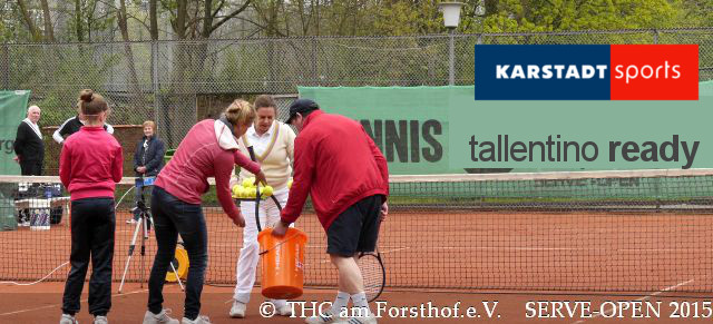 Tennis - Auschlagsfoto Nr. 2 - SERVE Open