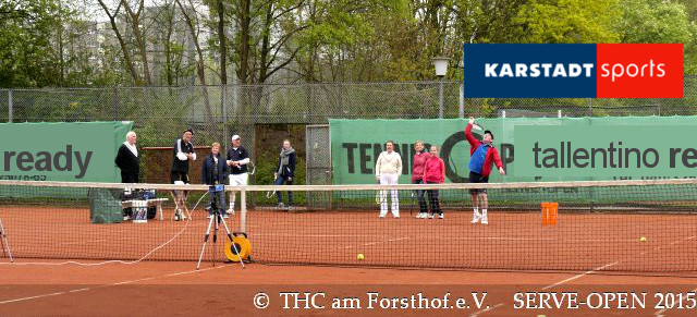 Tennis - Auschlagsfoto Nr. 4 - SERVE Open