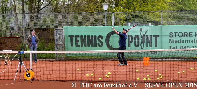 SERVE-OPEN 2014 bei Regen