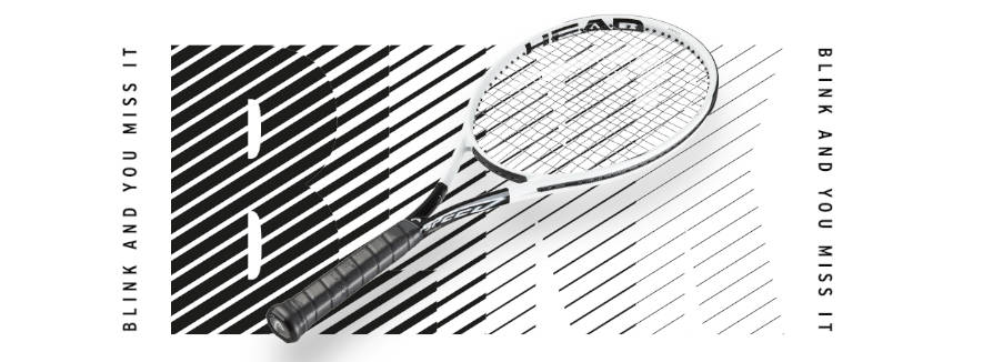 HEAD - Speed Tennisschläger - Bink and you miss it?