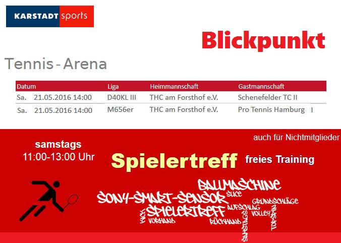 Spielertreff 2016 - Start in die Saison