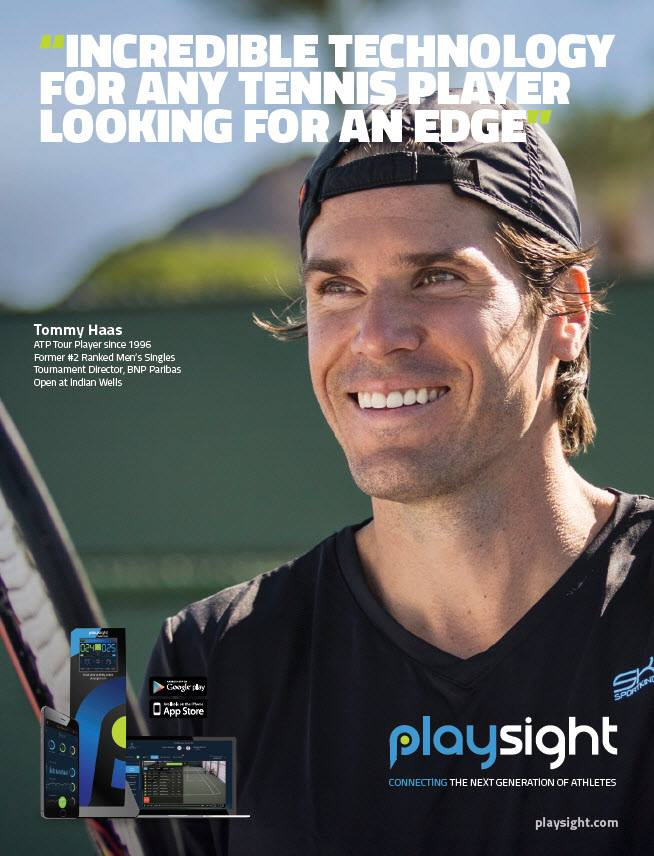 tommy haas PlaySight