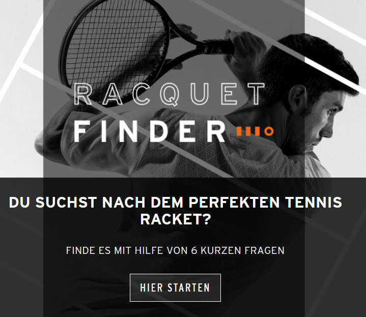 HEAD Racquet Finder