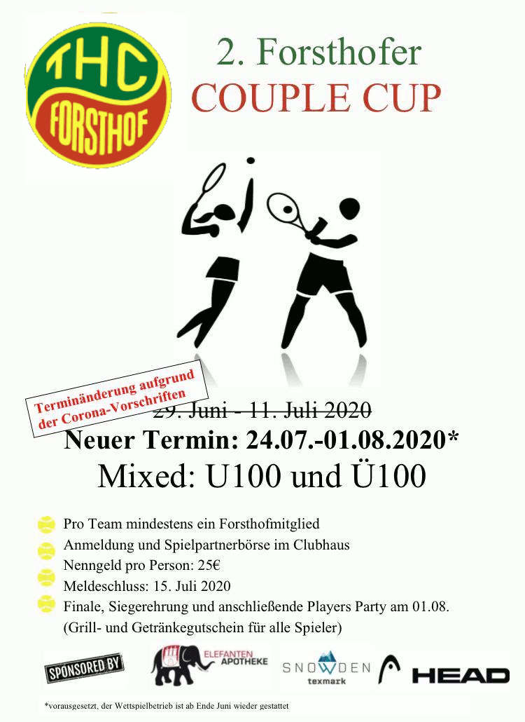 2. Forsthofer Couple Cup