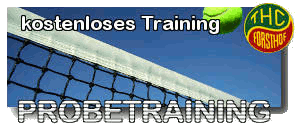 Tennis Probetraining / Schnupperkus in Hamburg