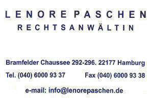 Rechtsanwältin Lenore Paschen