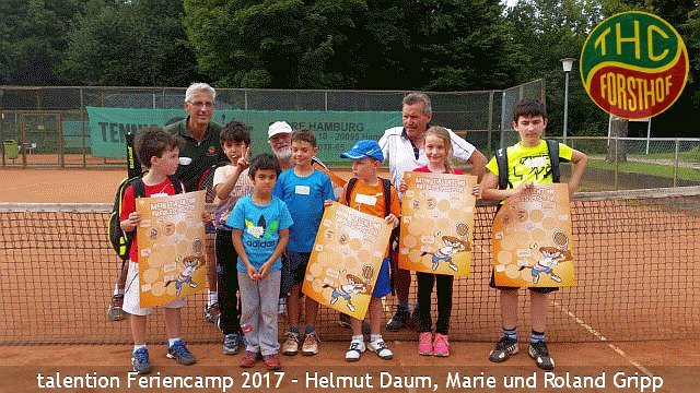 Tenniscamp in Hamburg am Bramfelder See