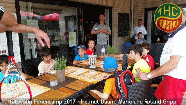 Tenniscamp der Forsthofer Tennischule