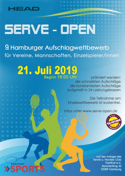 SERVE Open - Plakat 2019